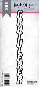 Bilde av Papirdesign Gratulerer 9 dies