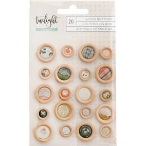 Bilde av American Crafts Wood Buttons