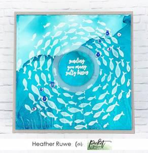 Bilde av Picket Fence Studios Vortex of Fish