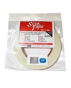 Bilde av Scor-Tape dobbeltsidig tape 1/4''