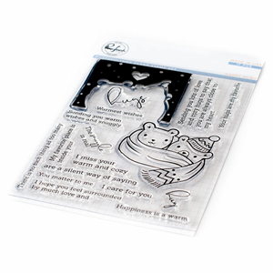 Bilde av Pinkfresh Studio Happy Hugs stamp set
