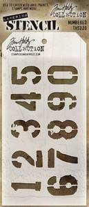 Bilde av Stampers Anonymous/ Tim Holtz Numbered Layering