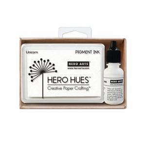 Bilde av Hero Arts Unicorn White + Reinker bundle