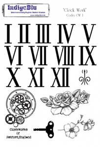 Bilde av IndigoBlu Clock Work Stamp