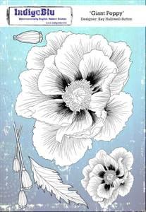 Bilde av IndigoBlu Giant Poppy Stamp