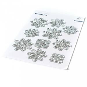 Bilde av Pinkfresh Studio Layered Snowflakes die set
