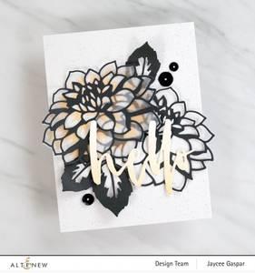 Bilde av Altenew Craft-A-Flower: Dahlia Layering Die Set