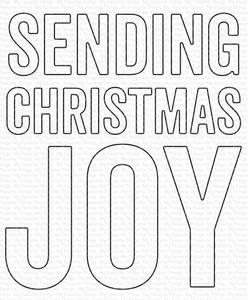 Bilde av MFT Sending Christmas Joy die