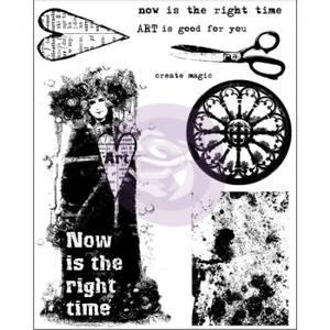 Bilde av Prima Now is the right time Finnabair Cling