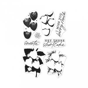 Bilde av Hero Arts Color Layering Strawberries stamp set