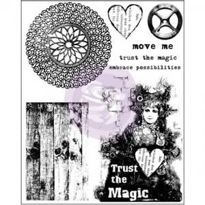 Bilde av Prima Trust the magic Finnabair Cling Stamps