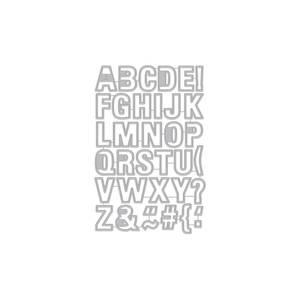 Bilde av Hero Arts Luggage Tag Alphabet Frame Cuts