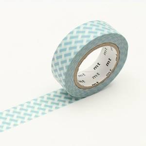 Bilde av mt Net Check Blue Washi Masking Tape
