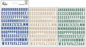 Bilde av Pinkfresh Studio Boys Fort Mini Alphabet Stickers