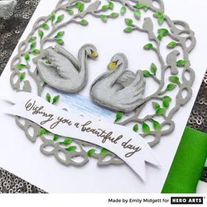 Bilde av Hero Arts Bird Branches Fancy Dies