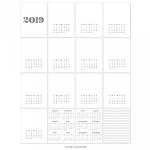 Bilde av 2019 Calendar
