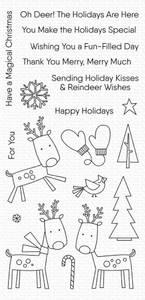 Bilde av MFT Reindeer Games stamp set