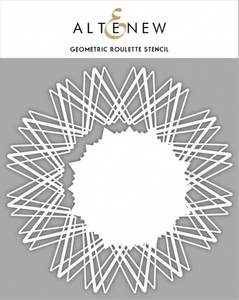 Bilde av Altenew Geometric Roulette Stencil