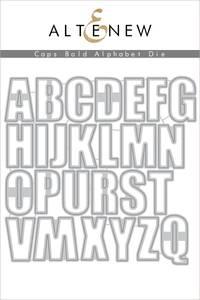 Bilde av Altenew Caps Bold Alphabet Die Set