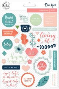 Bilde av Pinkfresh Studio Be You Puffy Stickers