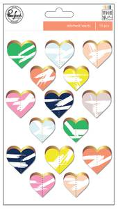 Bilde av Pinkfresh Studio The Mix No 2 Stitched Hearts