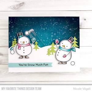 Bilde av MFT Festive Friends stamp set