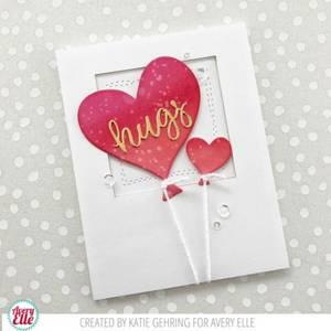 Bilde av Avery Elle Love Is In The Air Clear Stamps