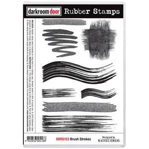 Bilde av Darkroom Door Rubber Stamps - Brush Strokes