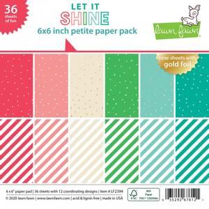Bilde av Lawn Fawn Let it Shine Petite Paper Pack