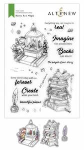Bilde av Altenew Books Are Magic Stamp & Die Bundle