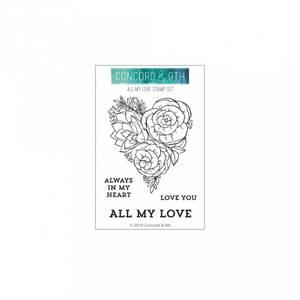 Bilde av Concord & 9th All My Love Stamp Set