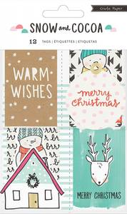 Bilde av Crate Paper Snow And Cocoa Tags