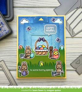 Bilde av Lawn Fawn Easter Before 'n Afters Stamp Set