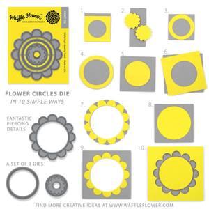 Bilde av Flower Circles Die