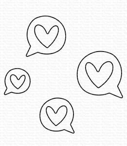 Bilde av MFT Love Speech Bubbles dies