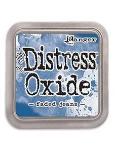 Bilde av Distress Oxide Faded Jeans