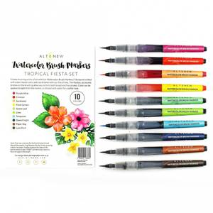 Bilde av Altenew Watercolor Brush Markers - Tropical