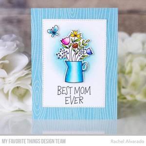 Bilde av MFT Mother's Day Bouquet stamp set