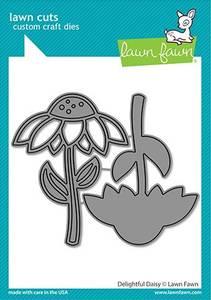 Bilde av Lawn Fawn Delightful Daisy Dies