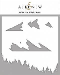 Bilde av Altenew Mountain Scene Stencil