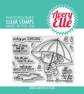 Bilde av Avery Elle Look For Rainbows Clear Stamps