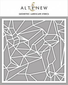Bilde av Altenew Geometric Landscape Stencil