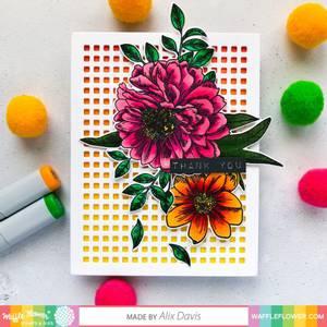 Bilde av Waffle Flower Micro Grid Panel 1 Die