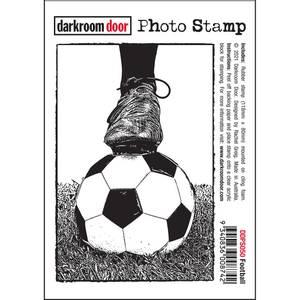 Bilde av Darkroom Door Photo Stamp - Football