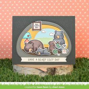 Bilde av Lawn Fawn Den Sweet Den Stamp Set