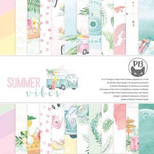 Bilde av P13 Paper Pad Summer Vibes 6'' x 6''