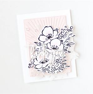 Bilde av Pinkfresh Studio Anemone Magic stamp set