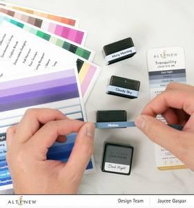 Bilde av Altenew Mini Ink Cube Label Decal Set