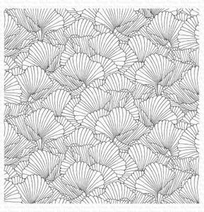 Bilde av MFT Coral Flair Background stamp