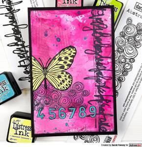 Bilde av Darkroom Door Abstract Stamp - Abstract 10
